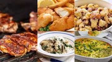 Picture of Continental Dishes